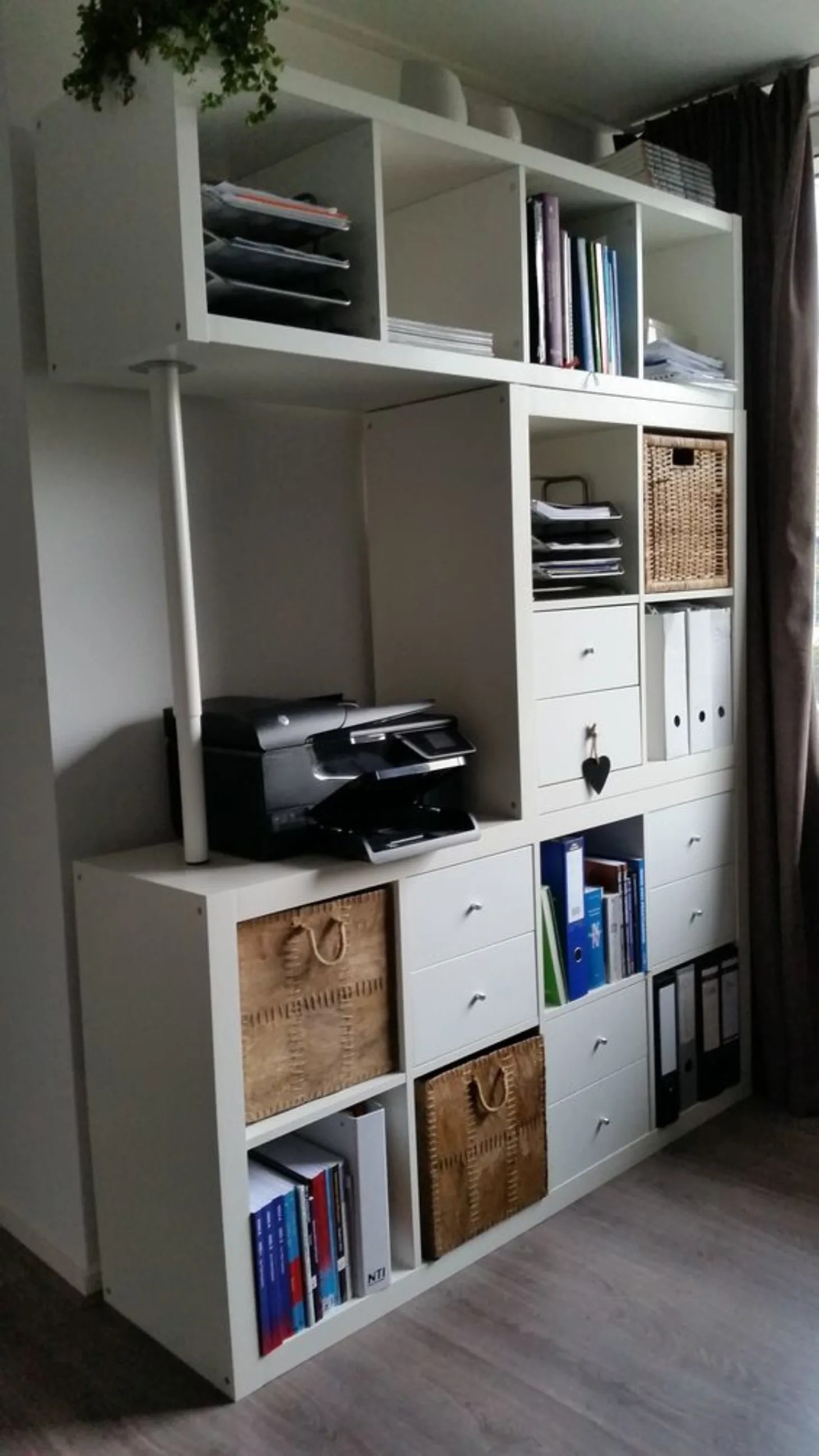Ikea Expedit Ovet 15 Super Smart Ways To Use The Ikea Kallax Bookcase Apartment Therapy