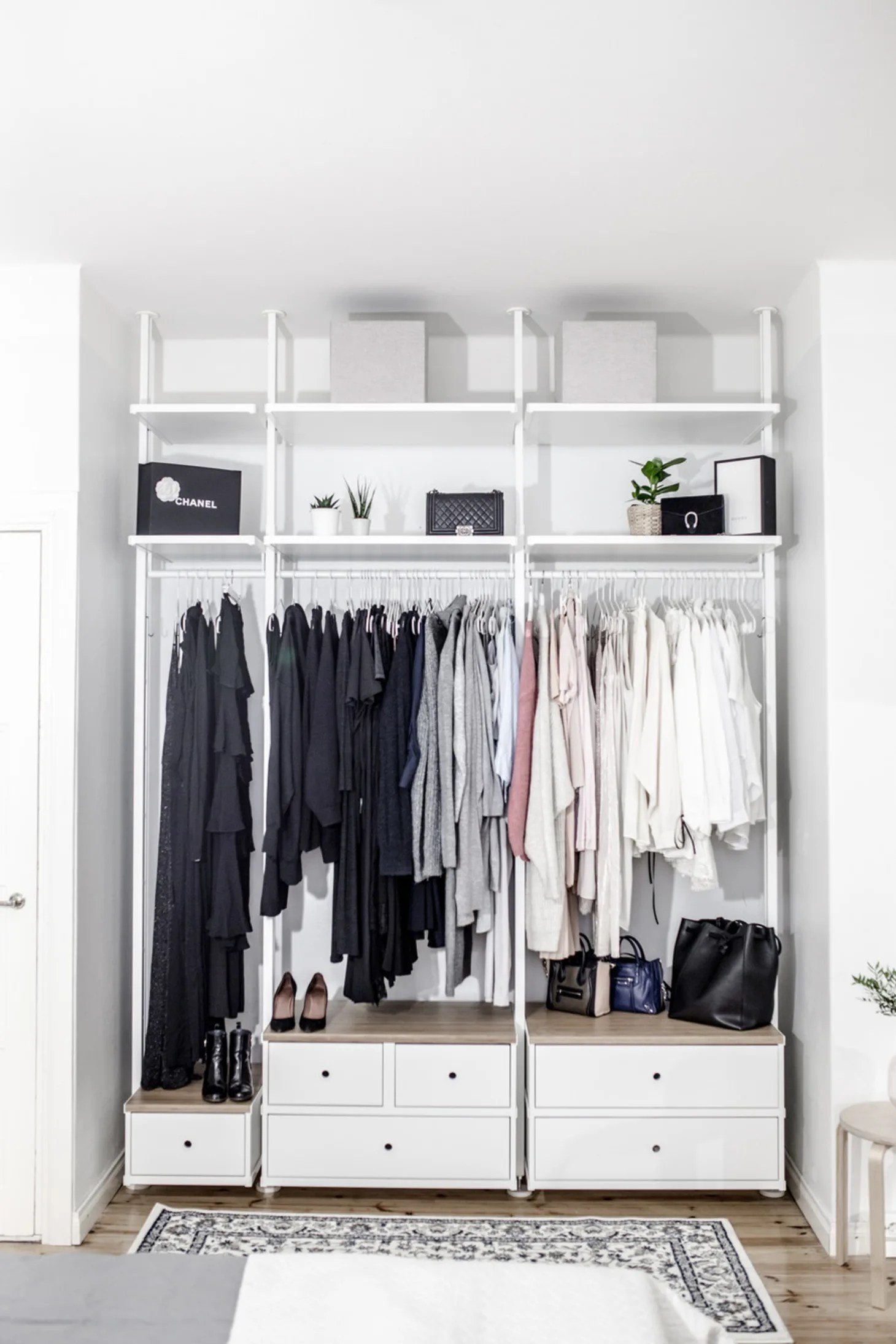 Ikea Wardrobe Tidy Ikea Closets To Create A Custom Closet Look Apartment Therapy