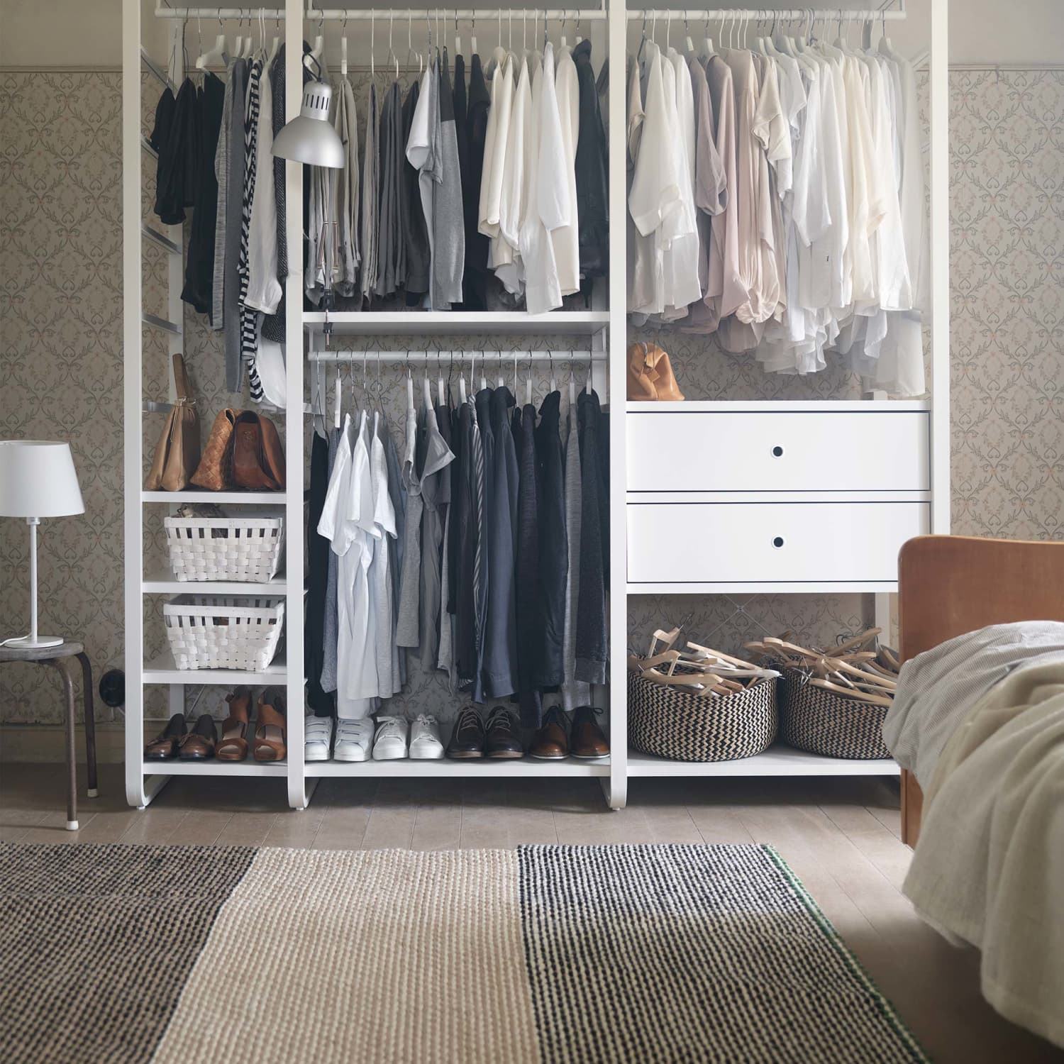 Ikea Wardrobe Leaning To One Side Elvarli Storage System Hack Ideas And Diy Projects