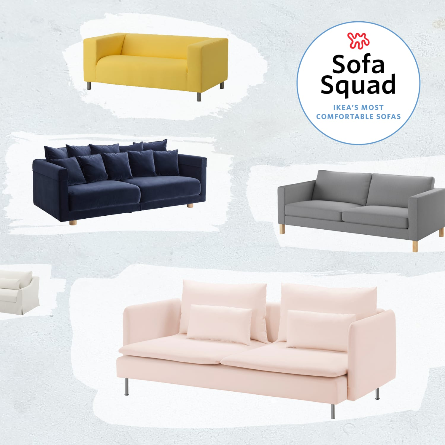 Landskrona Ikea Ecksofa The Best Most Comfortable Ikea Sofas Apartment Therapy