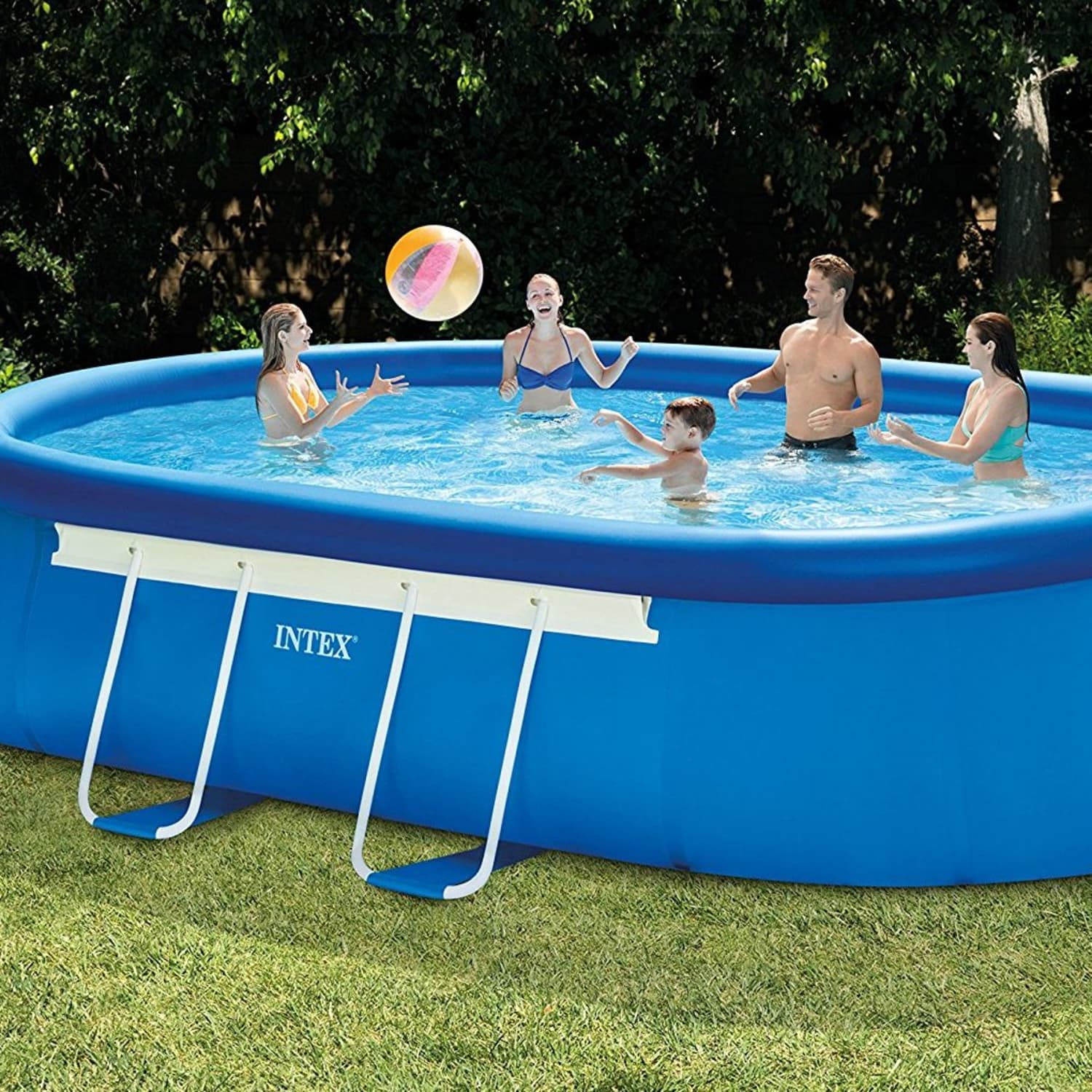 Intex Pools On Amazon The Best Portable Pools For Every Size Backyard Apartment Therapy