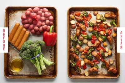 Easy Sheet Pan Dinners With Just 5 Ingredients | Kitchn