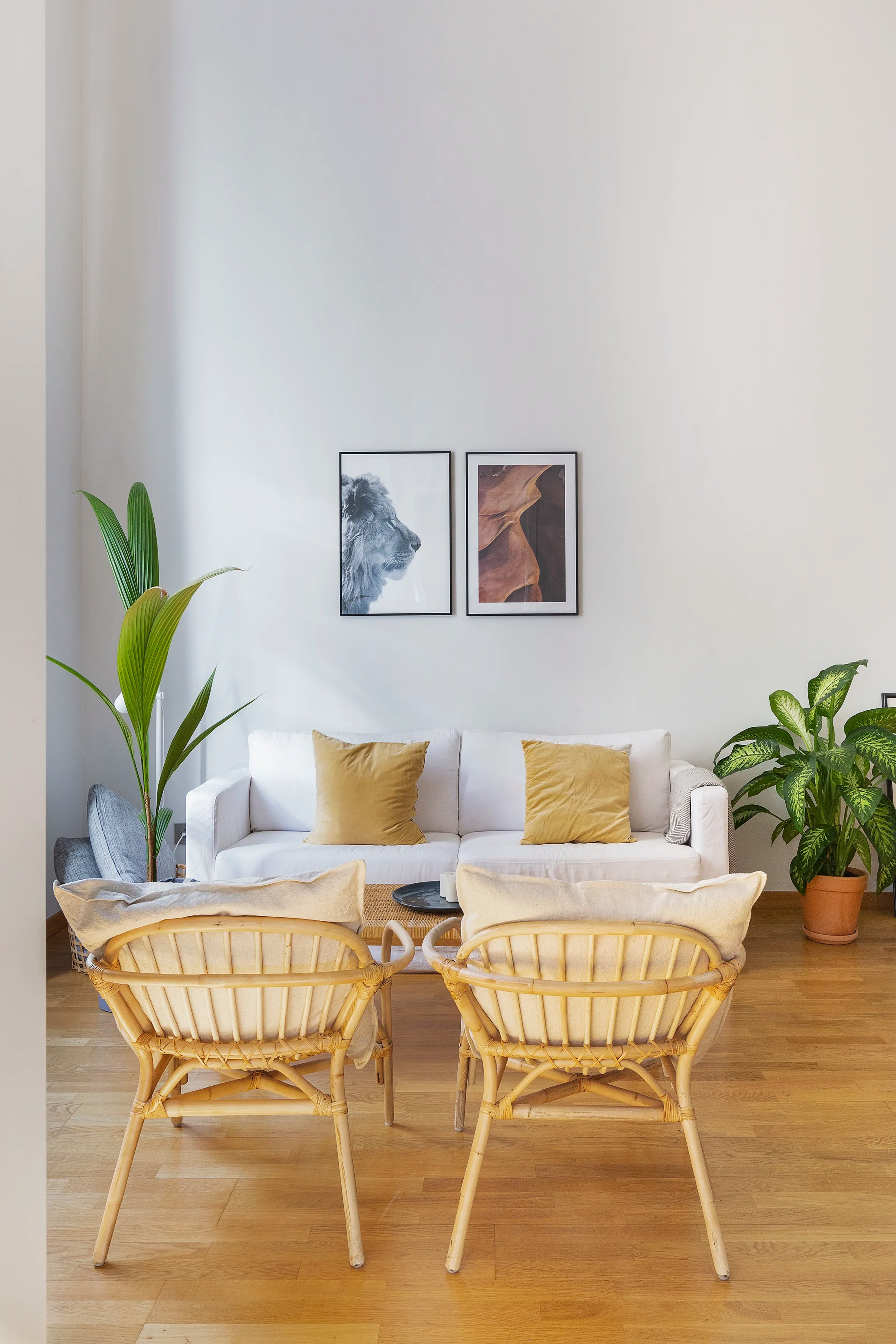 Ikea Filled Barcelona House Tour Photos Apartment Therapy