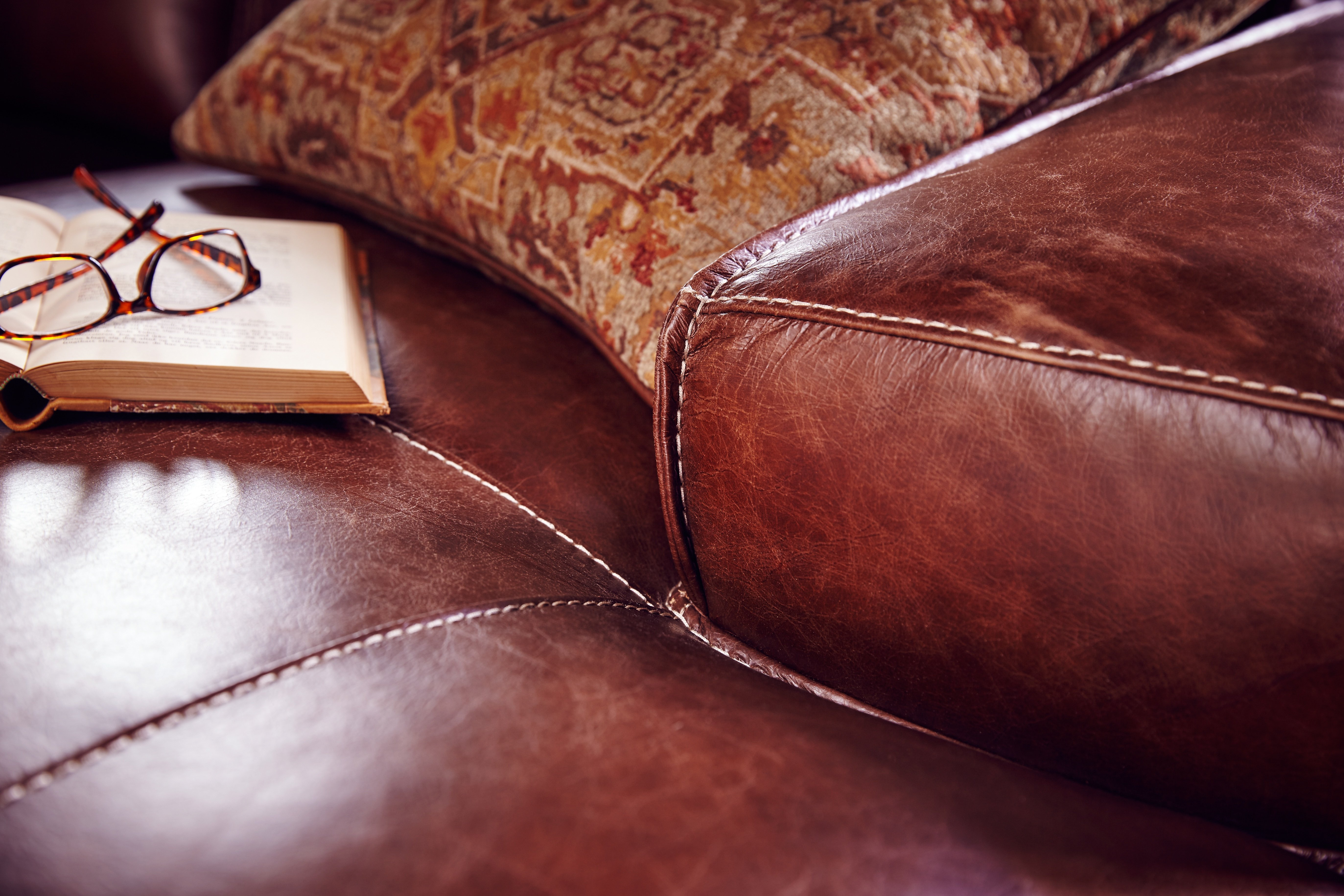 Know Your Leather A Detailed Guide To Spotting The Real Stuff Apartment Therapy