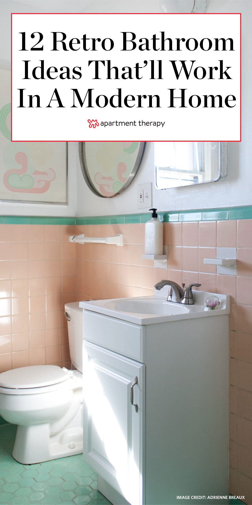 12 Retro Bathroom Ideas Cool Old Style Bathroom Photos Apartment Therapy
