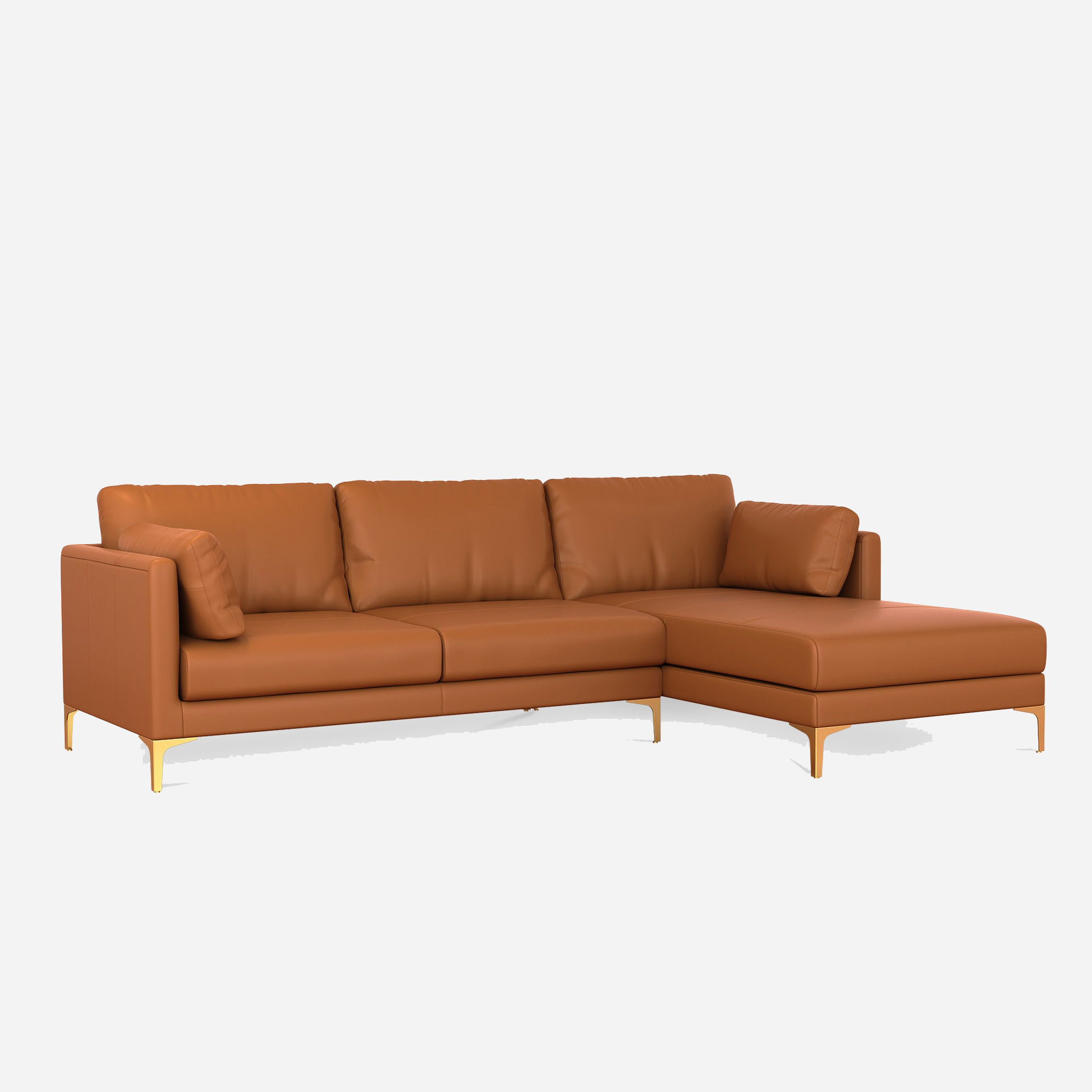 10 Best Modern Leather Sofas 2021 Apartment Therapy