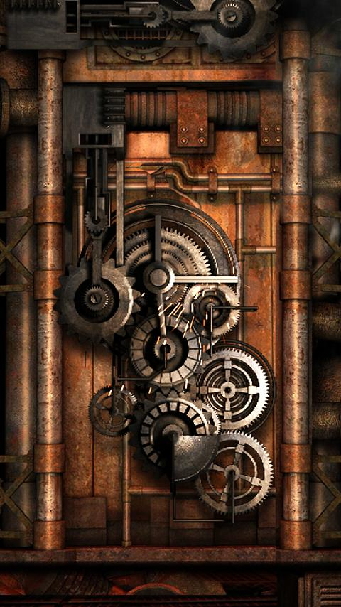 Anime Girl Live Wallpaper Apk Steampunk Live Wallpaper Gears 8 0 Apk Download Android
