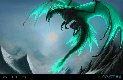 Dragons Live Wallpaper 1.0 APK Download - Android Personalization Apps