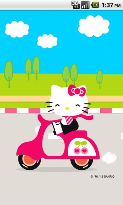 Hello Kitty Live Wallpaper 3 1.0 APK Download - Android Personalization Apps