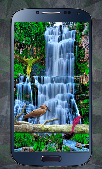 Water Falling live HD Wallpaper app 1.0 APK Download - Android Personalization Apps