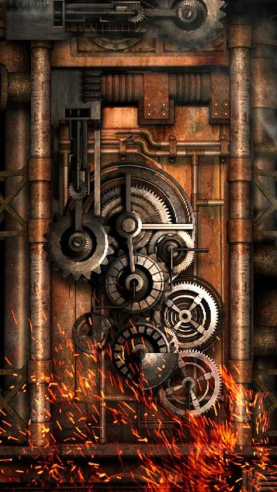 Steampunk Live Wallpaper Gears 8.0 APK Download - Android Personalization Apps