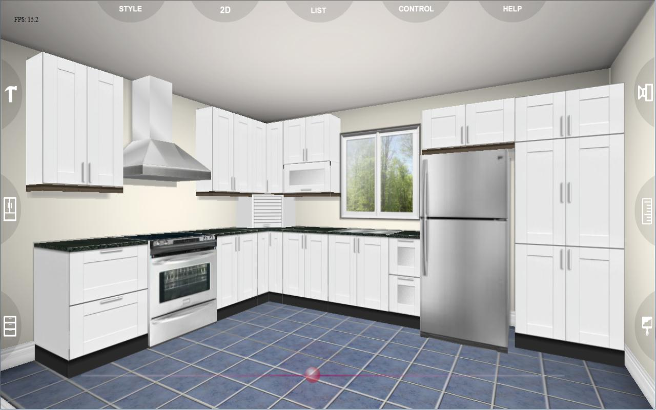 Kitchen Design Plan App Eurostyle Kitchen 3d Design 2 2 Apk Download Android