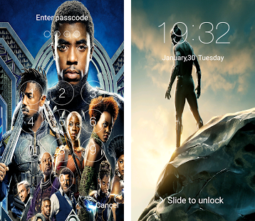 Black Panther T'Challa Look Screen & HD wallpapers Apk Download latest version 3.0.0- com ...