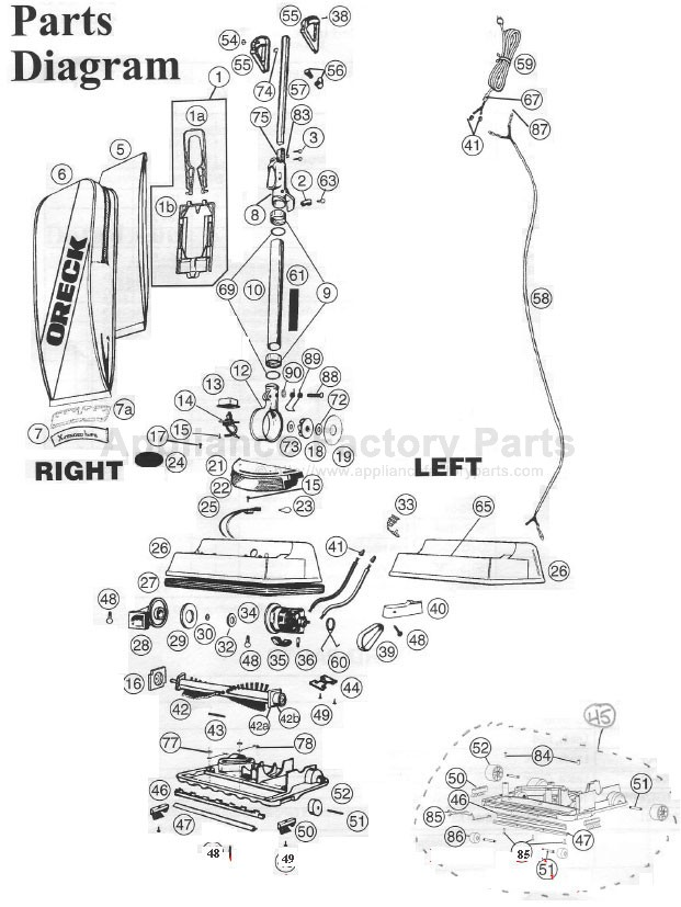 Diagram Of Oreck Download Wiring Diagram