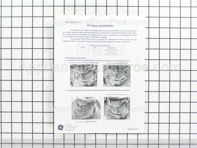 ge motor cross reference chart