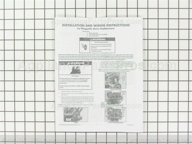 Whirlpool W10410999 Motor-Drve - AppliancePartsPros