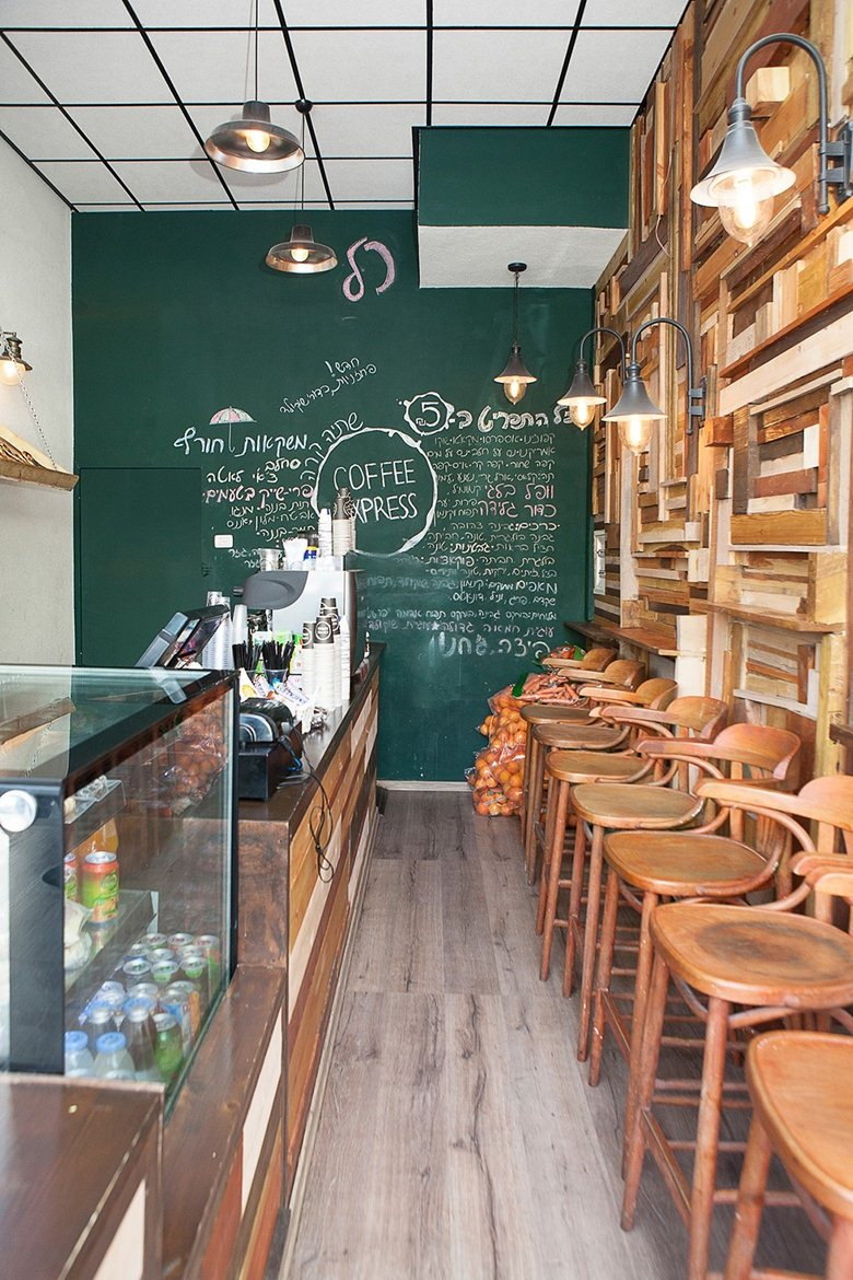 Design Cafe Kecil Coffee Shop Design By Dana Shaked Dana Shaked