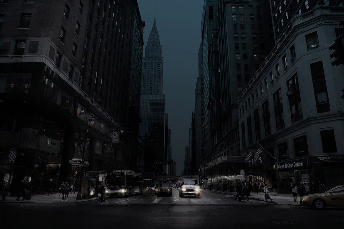 Dark City Street At Night In Focus Simon Gardiner Features Archinect