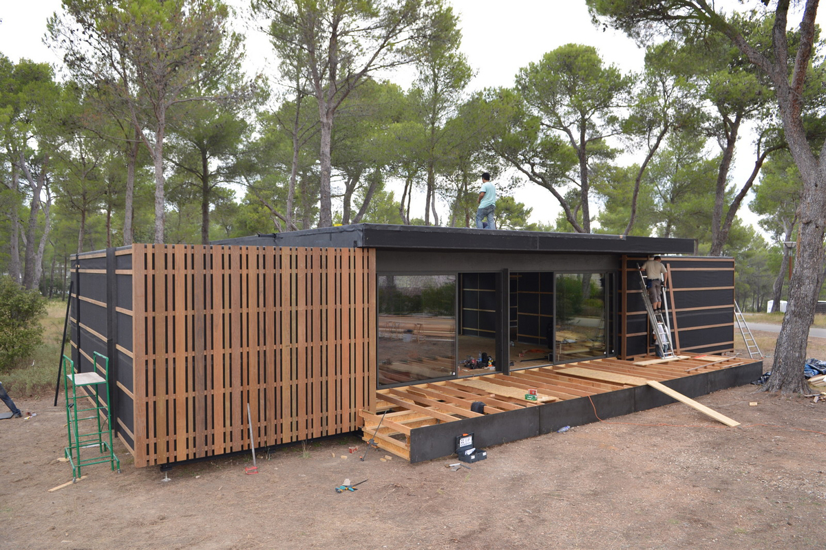 Container Haus Holland Pop Up House Multipod Studio Archinect