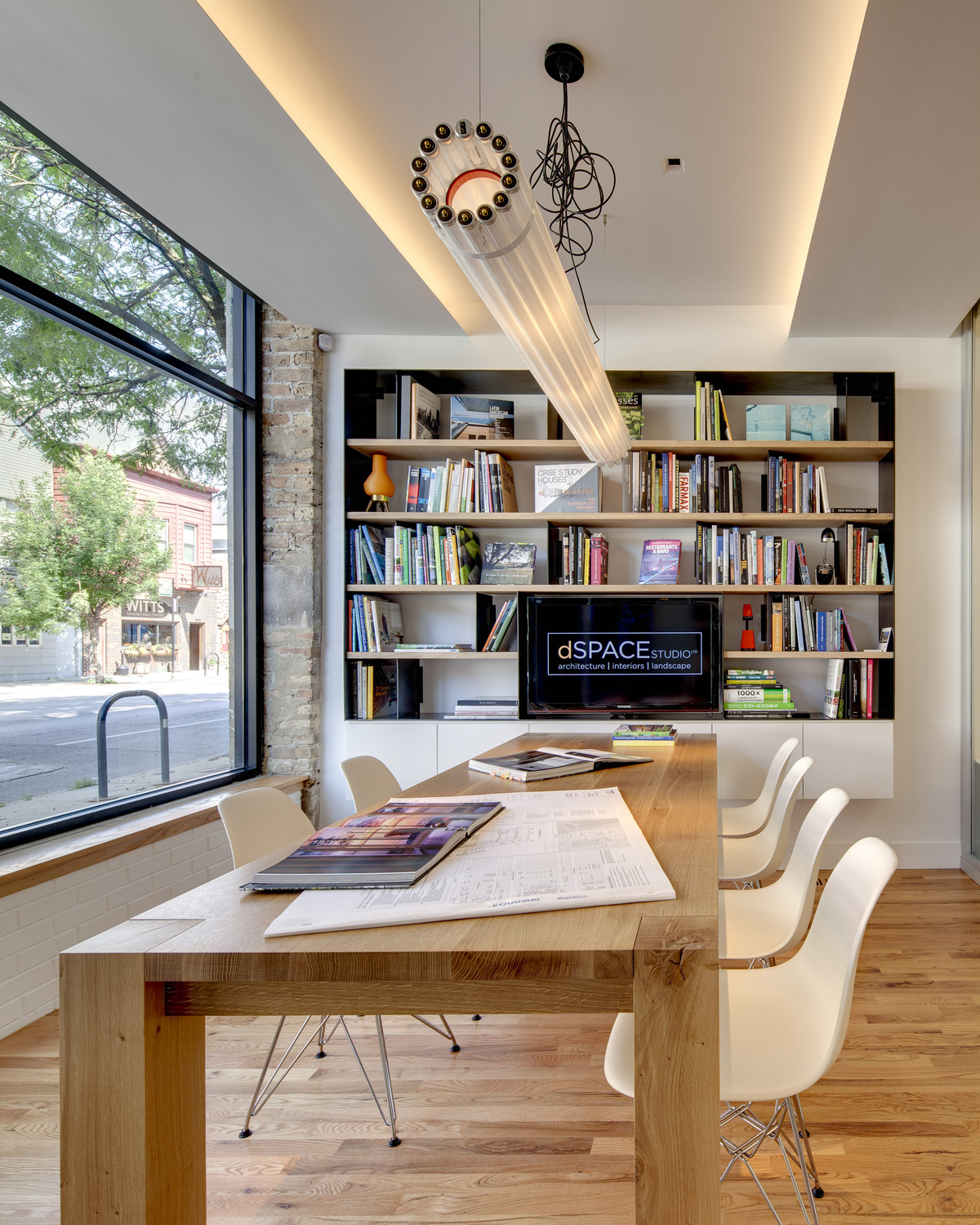 Vacation Spot Blogs Contemporary Office Interior Dspace Studio Archinect