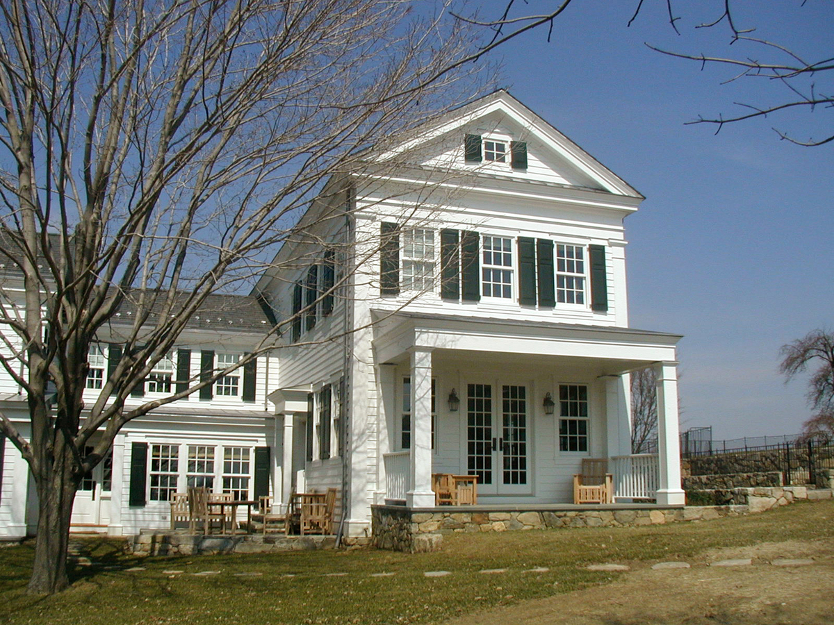 Greek Revival Farmhouse Architecture Greek Revival House Slava Nikitin Archinect