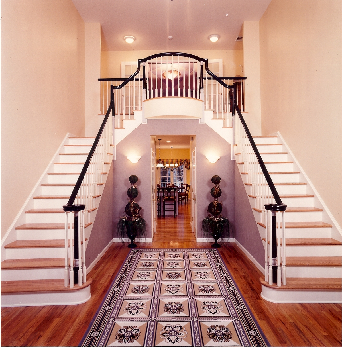 Double Staircase Entry Terri Mc Ray Archinect