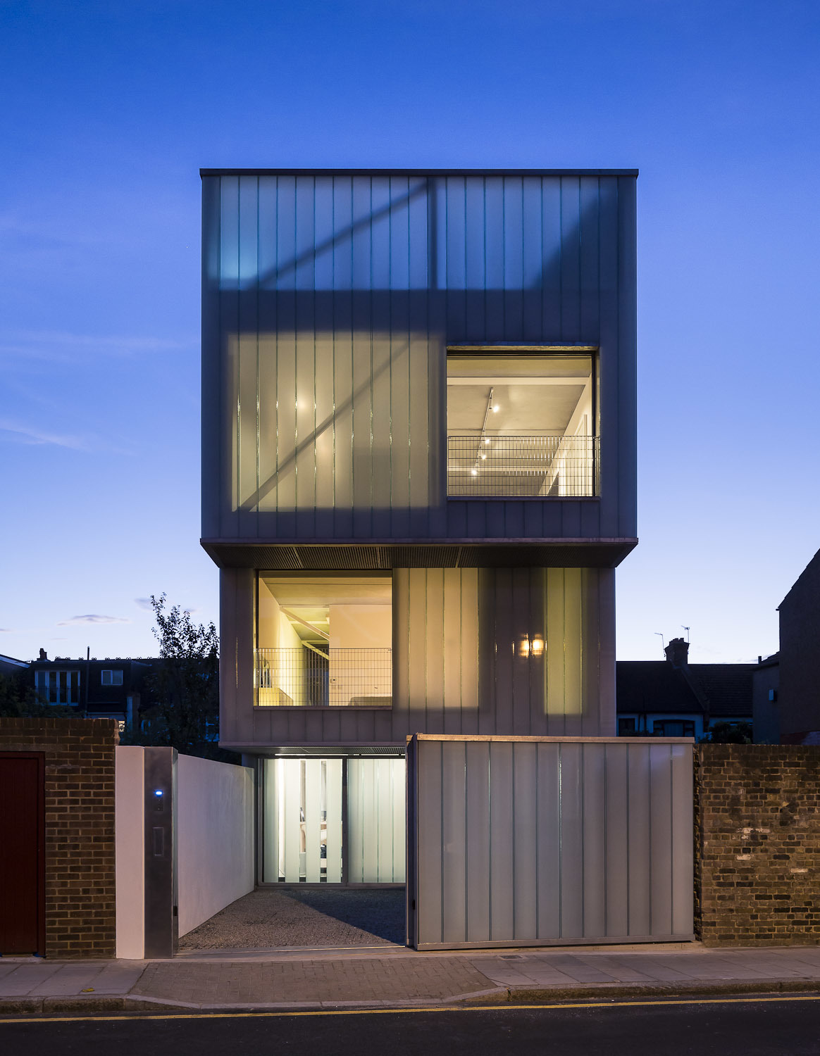 Container Haus London Slip House Carl Turner Architects Archinect