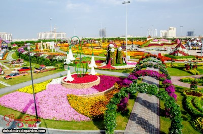 Dubai Miracle Garden: The World's Biggest Natural Flower Garden With Over 45 Million Flowers ...
