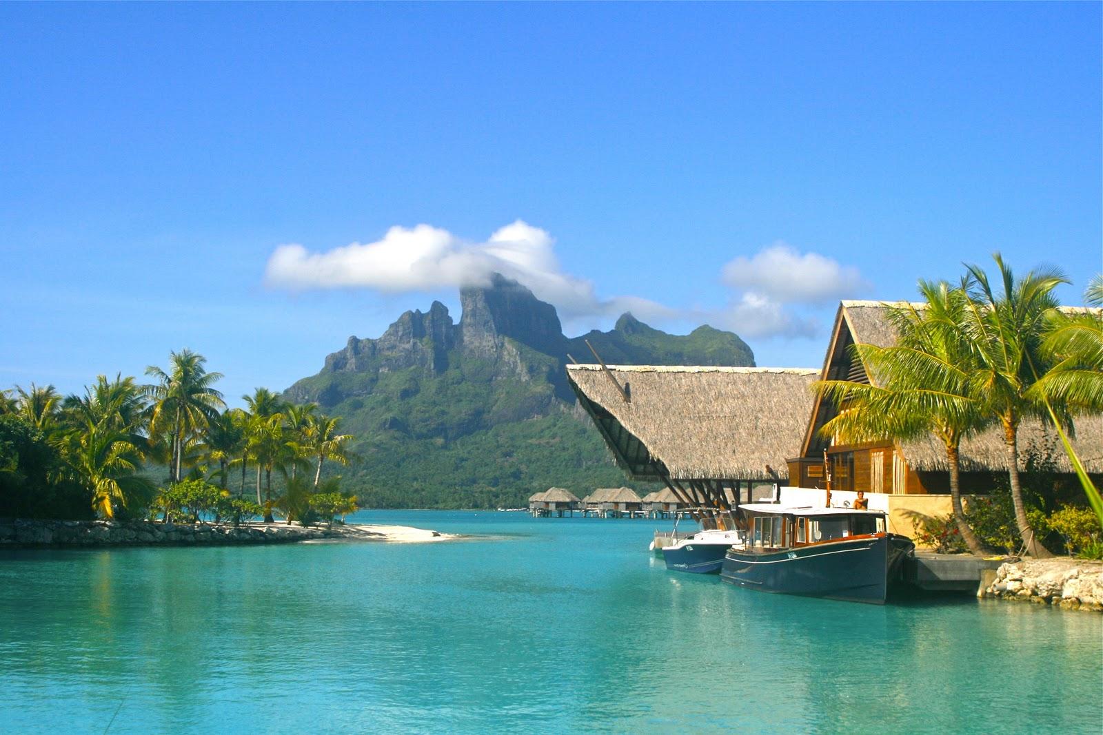 Coral Reef Wallpaper Hd Four Seasons Resort Bora Bora French Polynesia