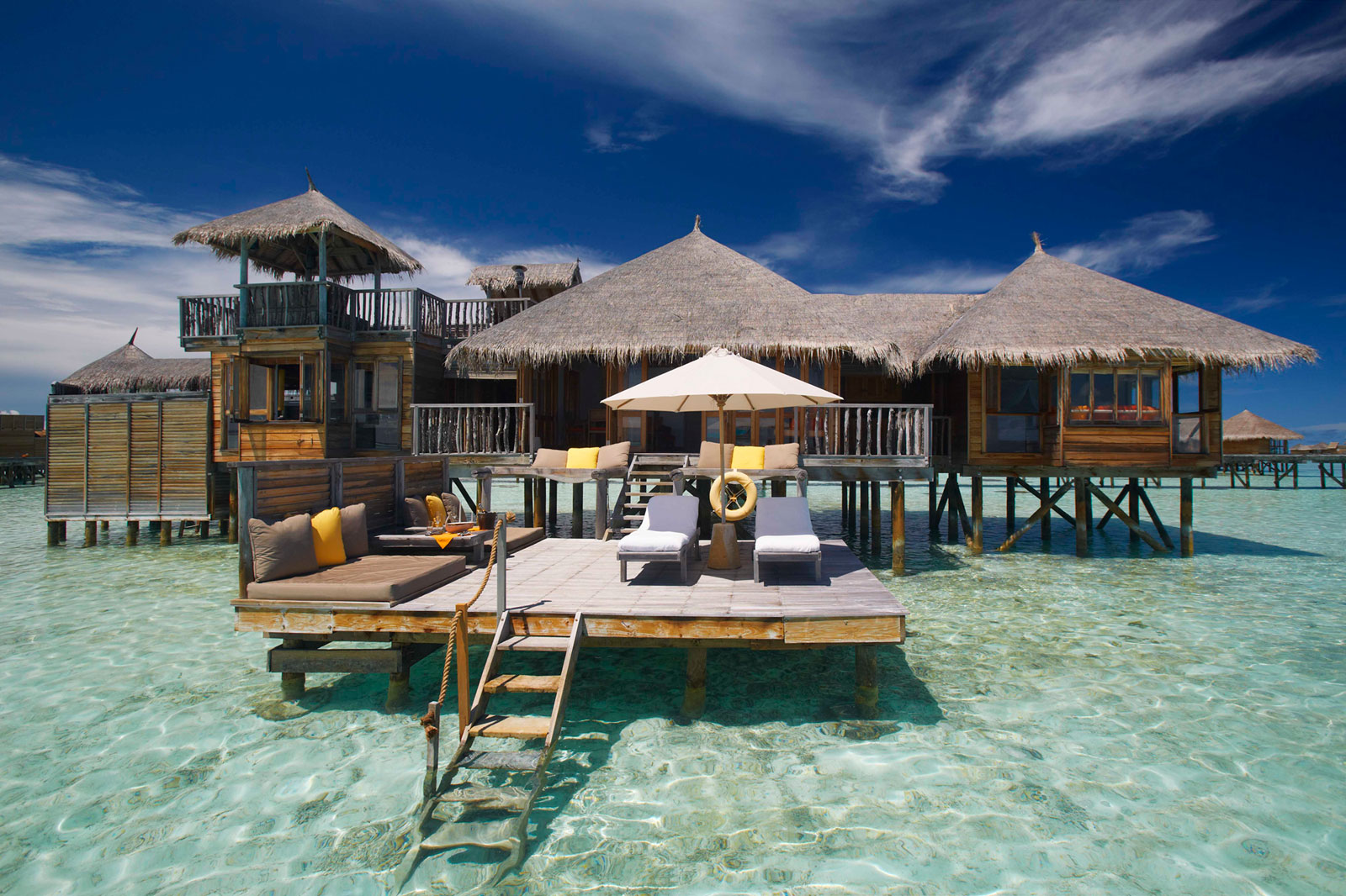 Desain Resort Gili Lankanfushi A Paradisaical Resort In Maldives