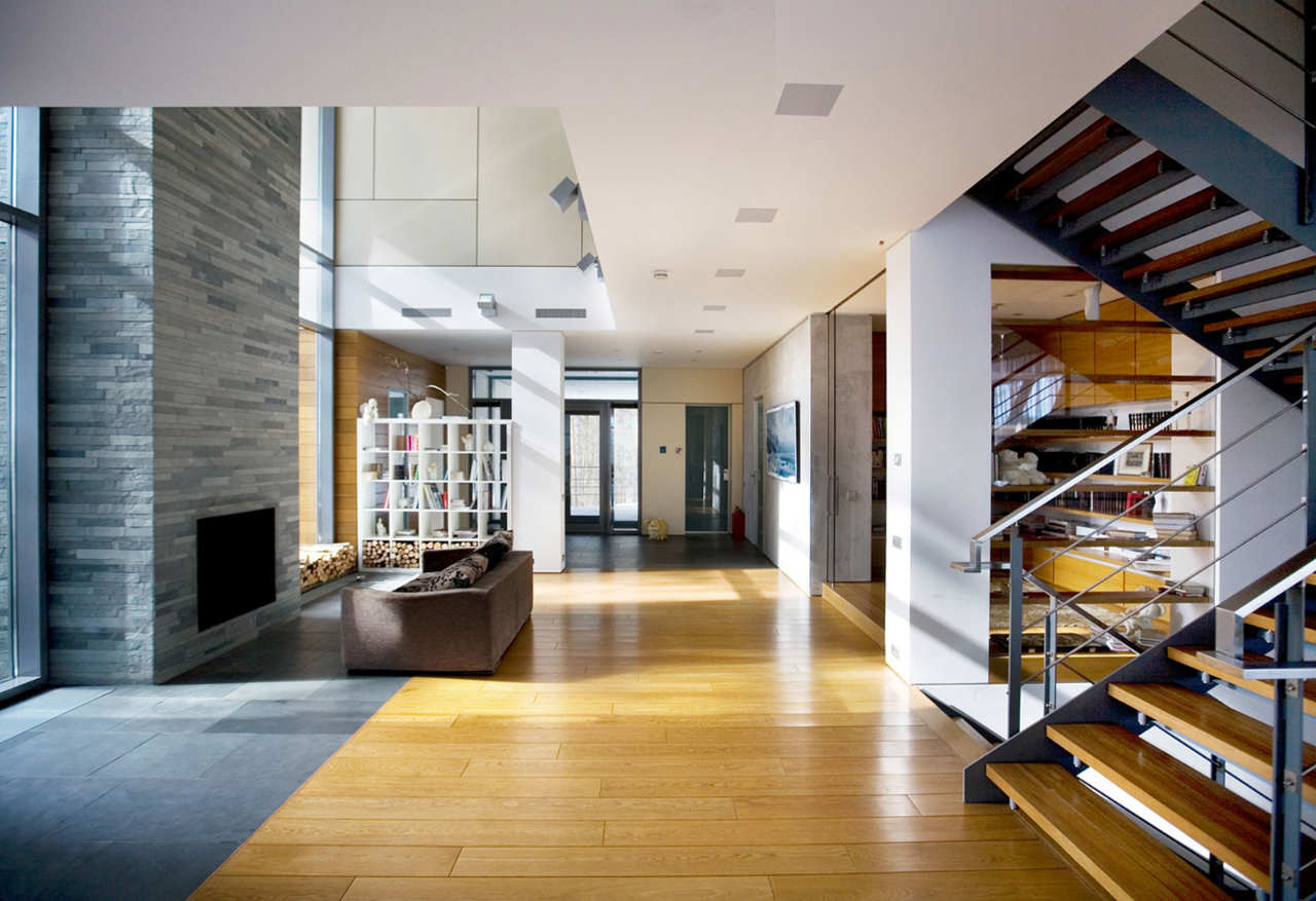 Contemporary House Interior Design Contemporary House Near Moscow By Atrium Architects