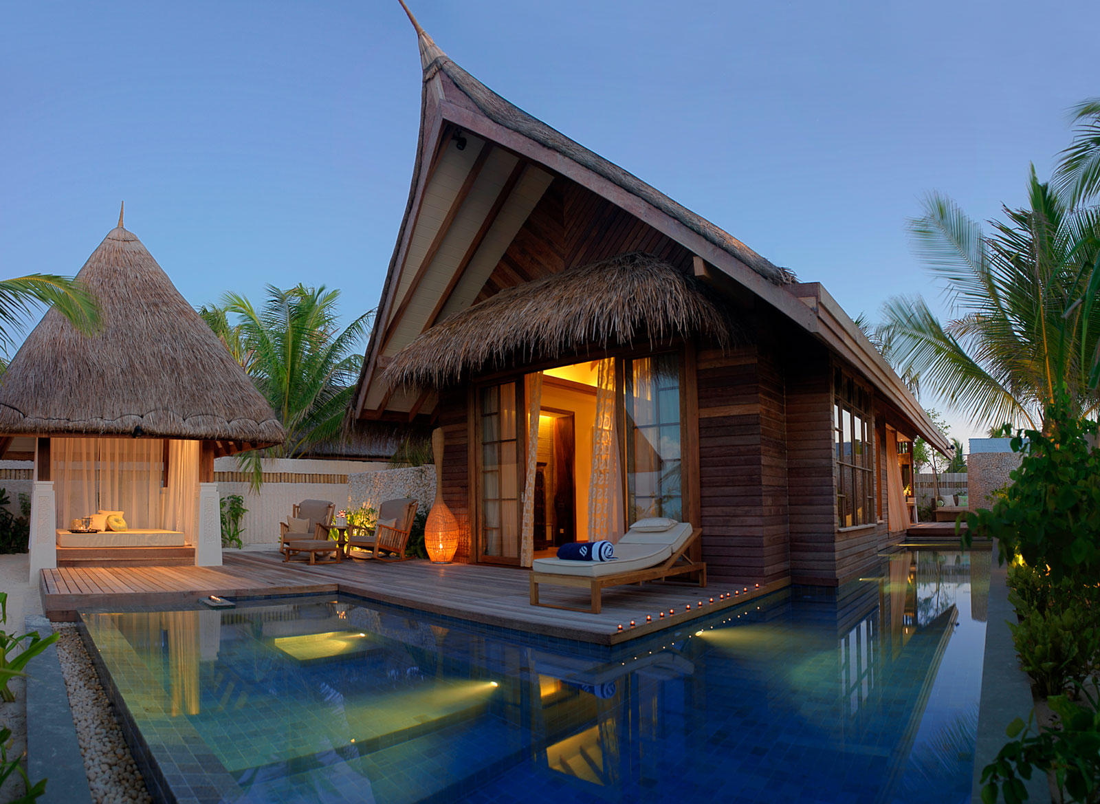 Desain Resort Jumeirah Vittaveli Resort In Maldives Architecture And Design
