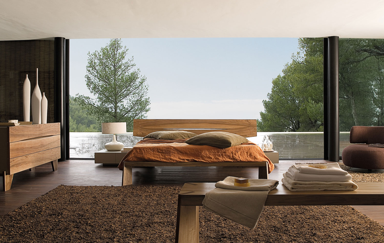 Sofas Modernos Bedroom Inspiration: 20 Modern Beds By Roche Bobois