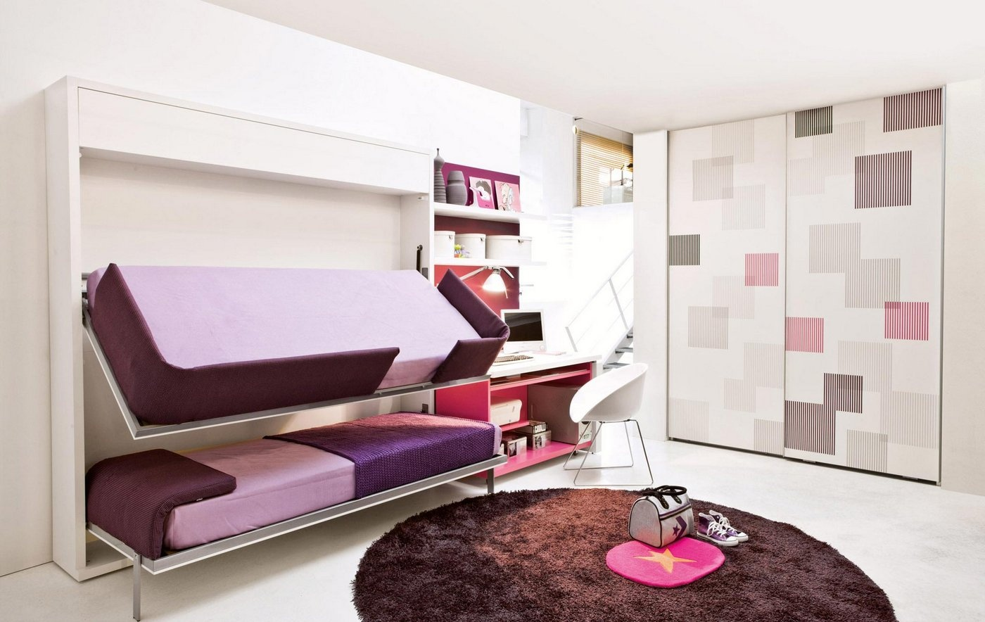 Schrankbett Junge Transformable Space Saving Kids Rooms Architecture And Design