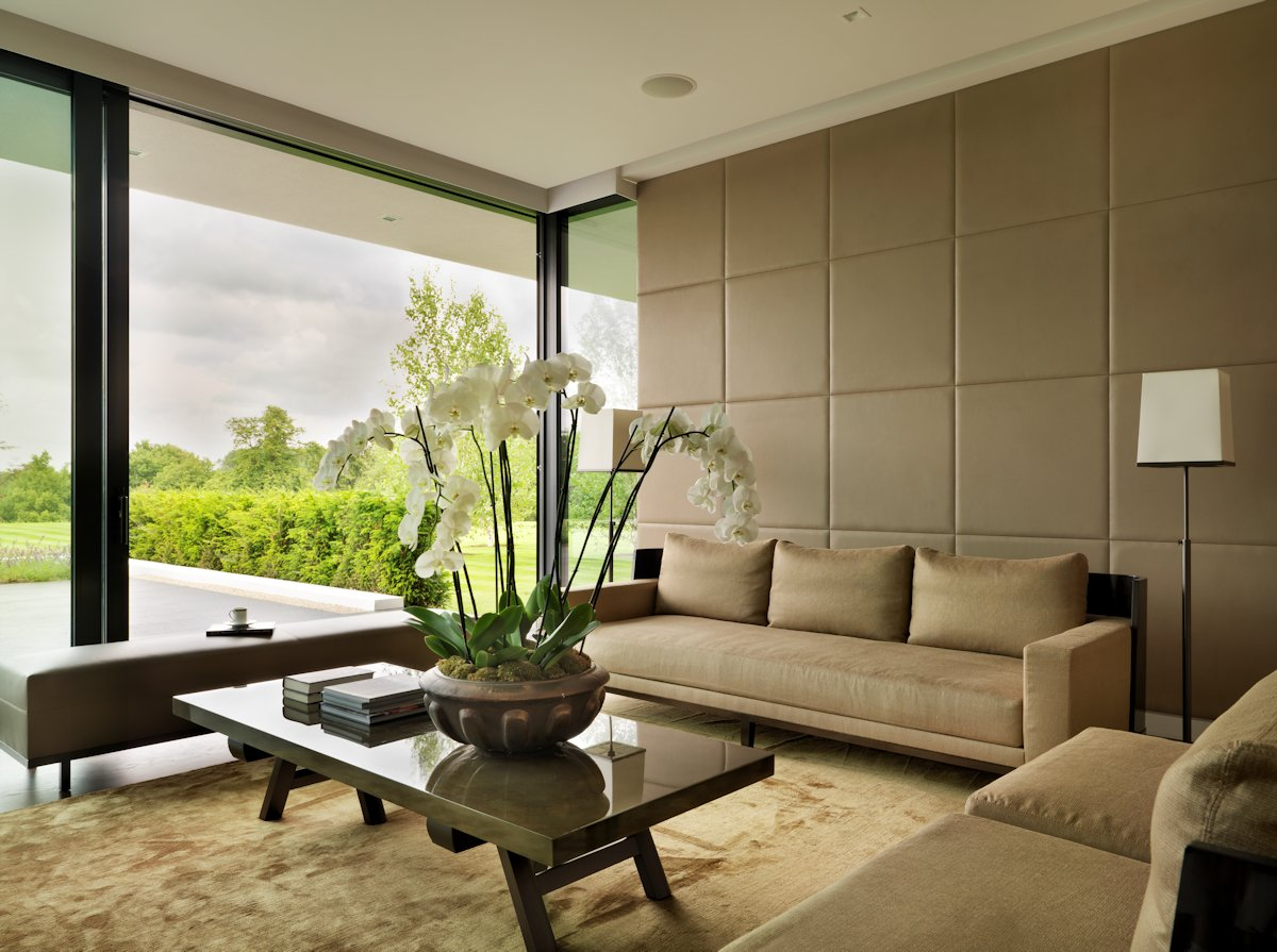 Wohnzimmer Modern Country A Modern Country House By Gregory Phillips Architects Architecture