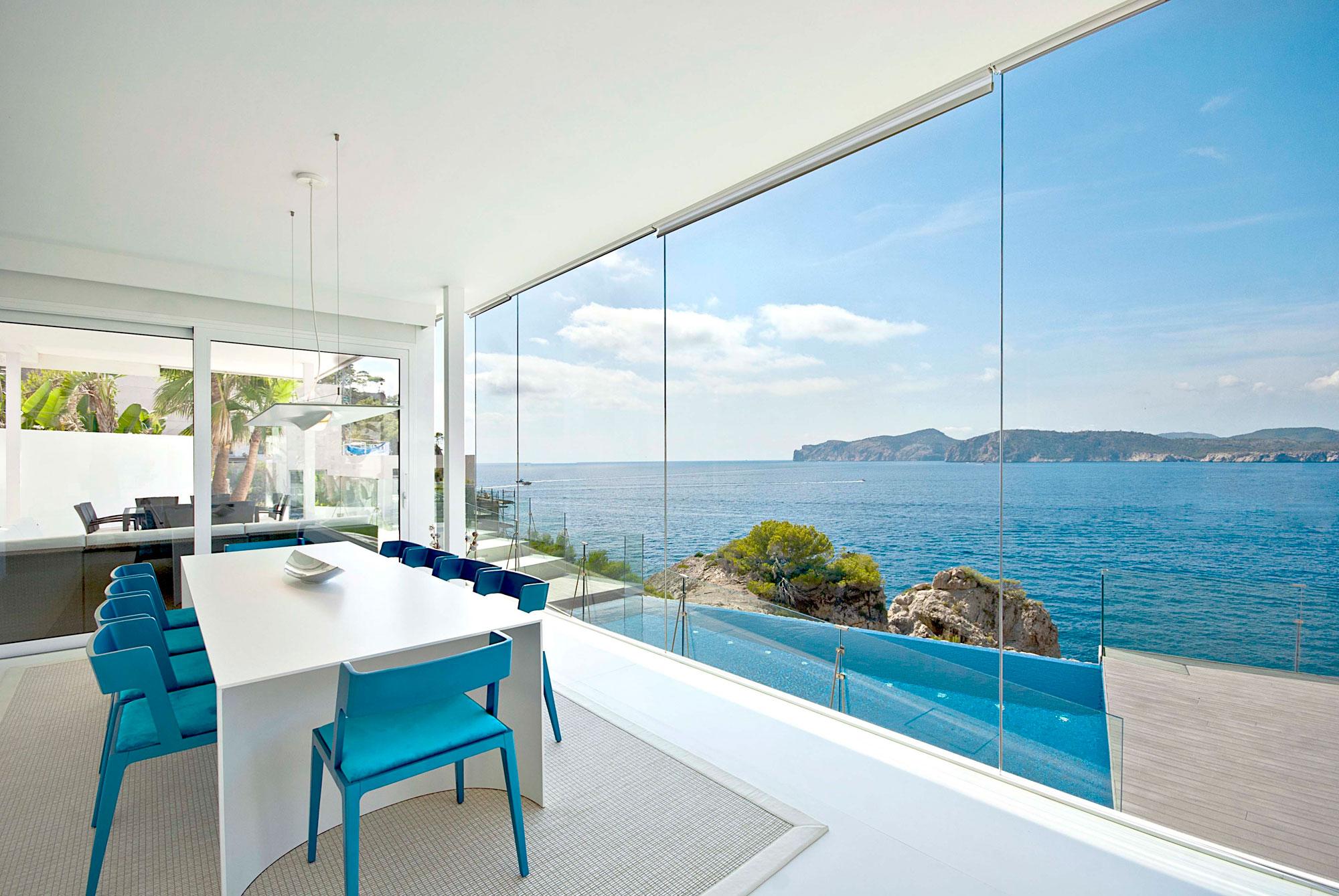 Greek Village Scene 3d Wallpaper White Mallorca Gold In Calvia Spain Architecture Amp Design