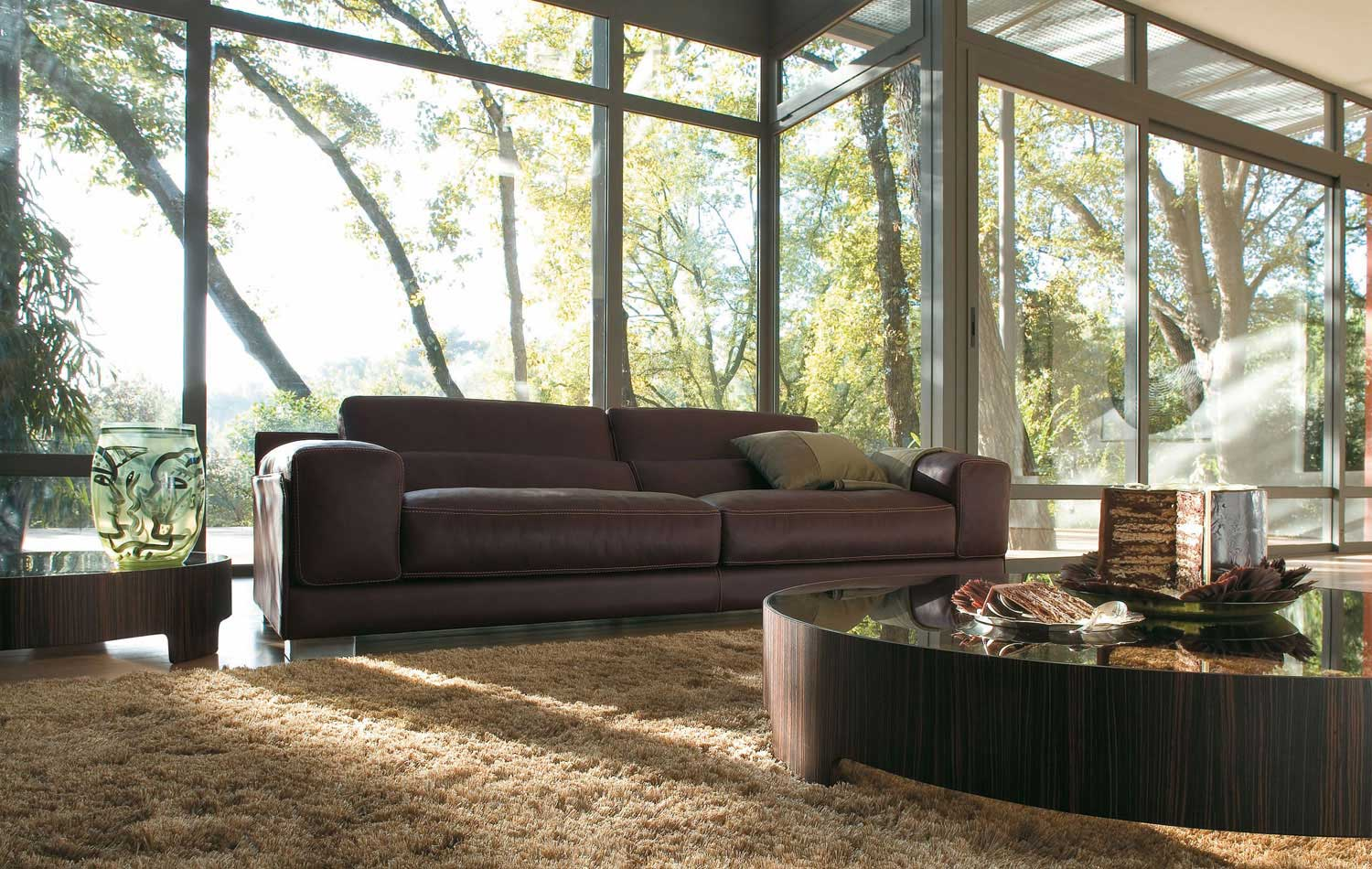 Teppich Couch Living Room Inspiration: 120 Modern Sofas By Roche Bobois ...
