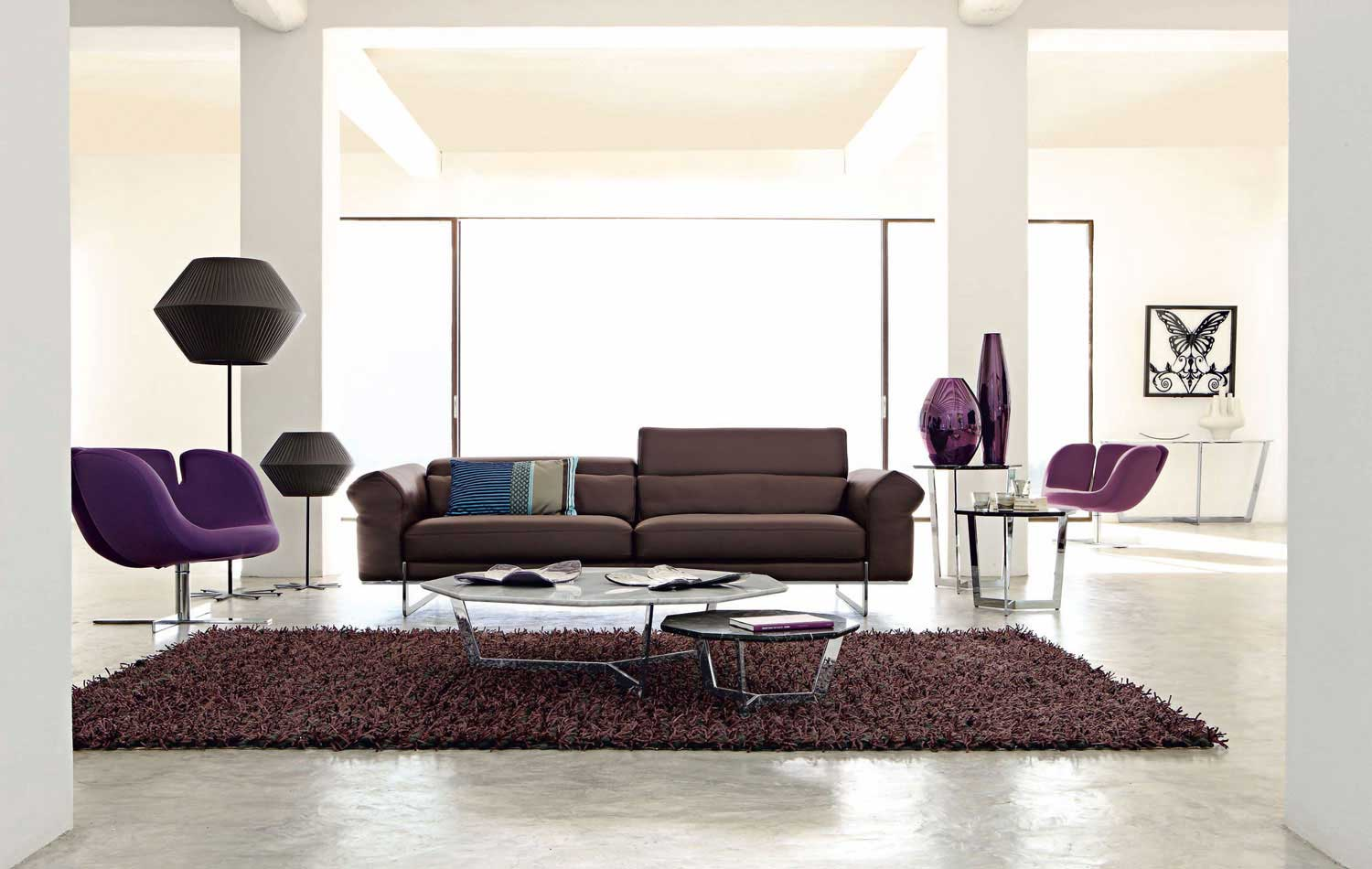Couch Braun Living Room Inspiration: 120 Modern Sofas By Roche Bobois