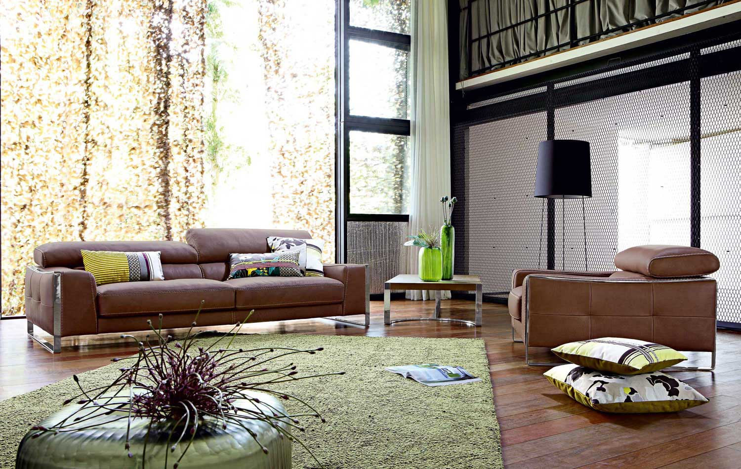 Braune Couch Living Room Inspiration: 120 Modern Sofas By Roche Bobois