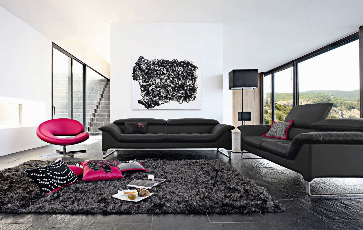 Comfortable Den Furniture Living Room Inspiration 120 Modern Sofas By Roche Bobois