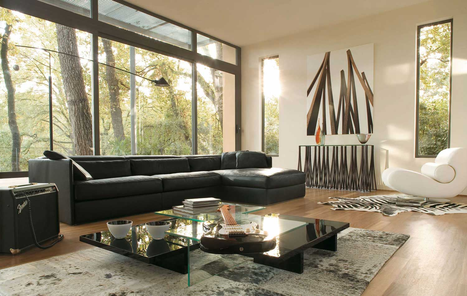 Couch Schwarz Living Room Inspiration: 120 Modern Sofas By Roche Bobois