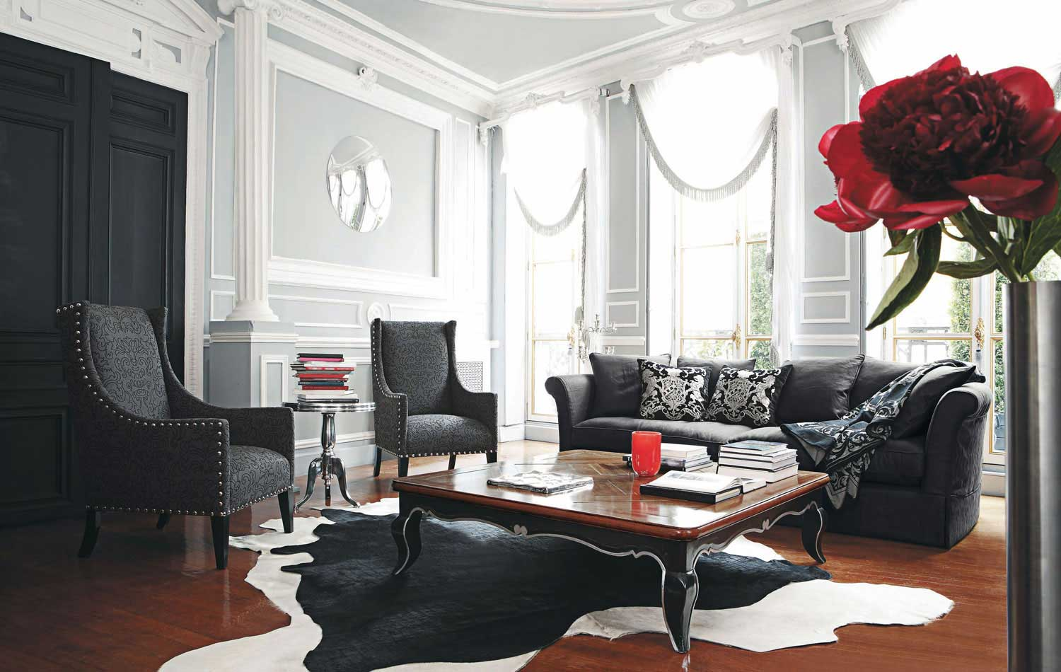 Canape Design Rouge Living Room Inspiration: 120 Modern Sofas By Roche Bobois