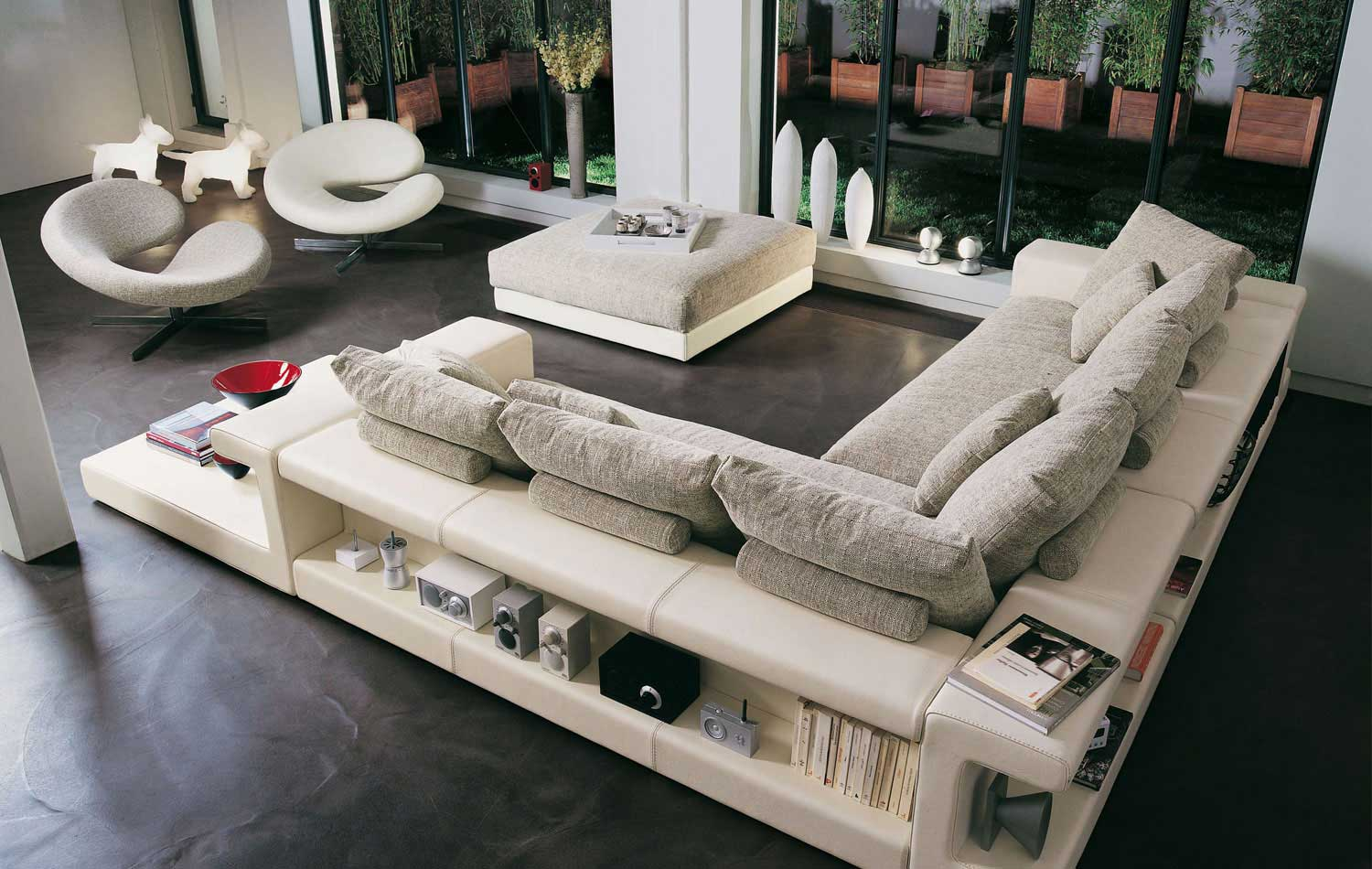 Living Room Inspiration 120 Modern Sofas By Roche Bobois Part 2 3 Architecture Design - Divano Designs
