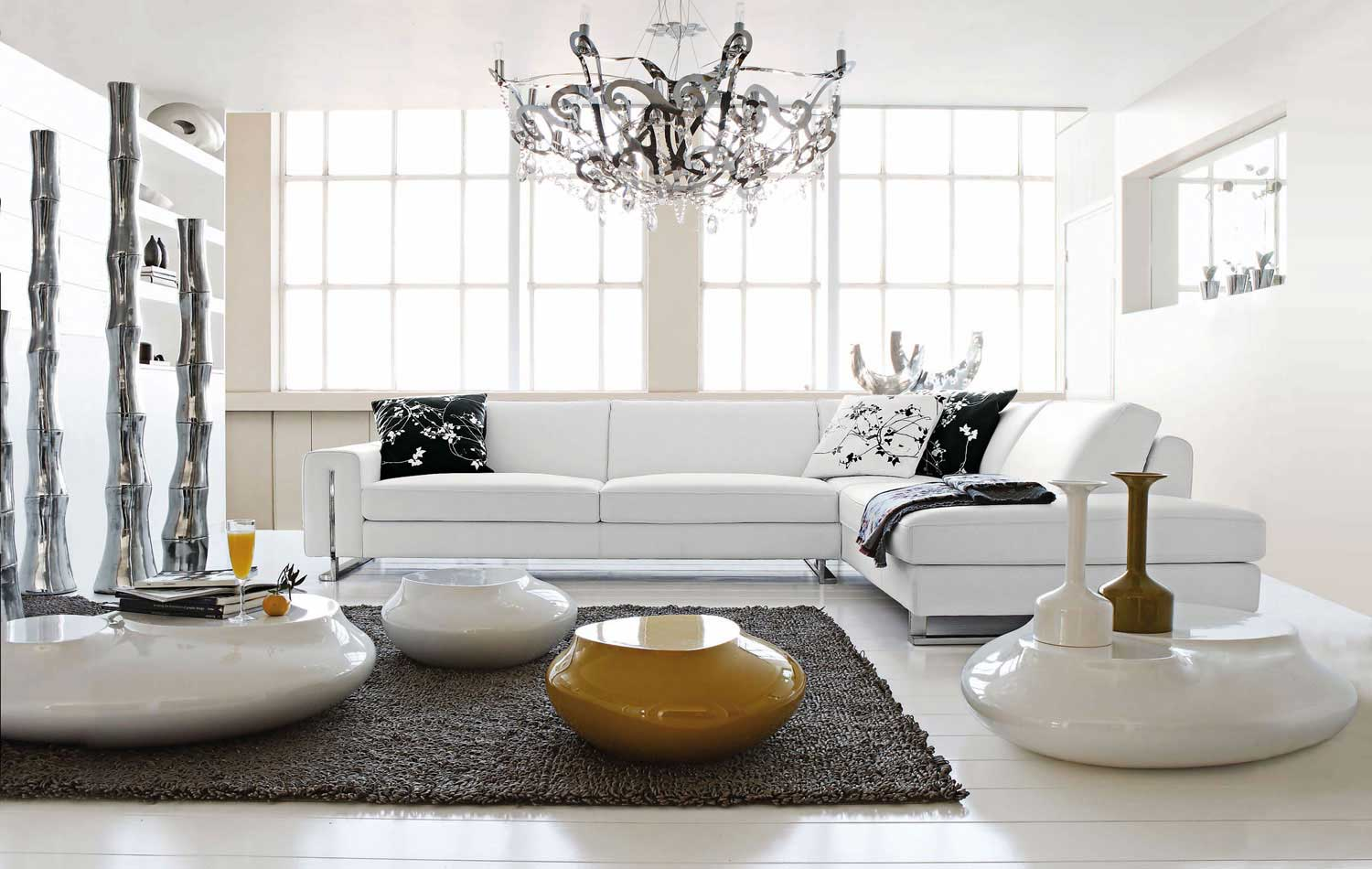Canape Angle Ikea Living Room Inspiration: 120 Modern Sofas By Roche Bobois