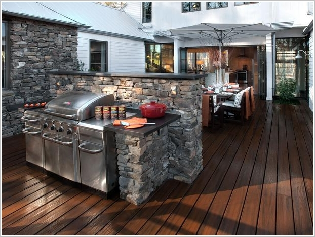 10 Amazing Outdoor Barbecue Kitchen Designs Architecture