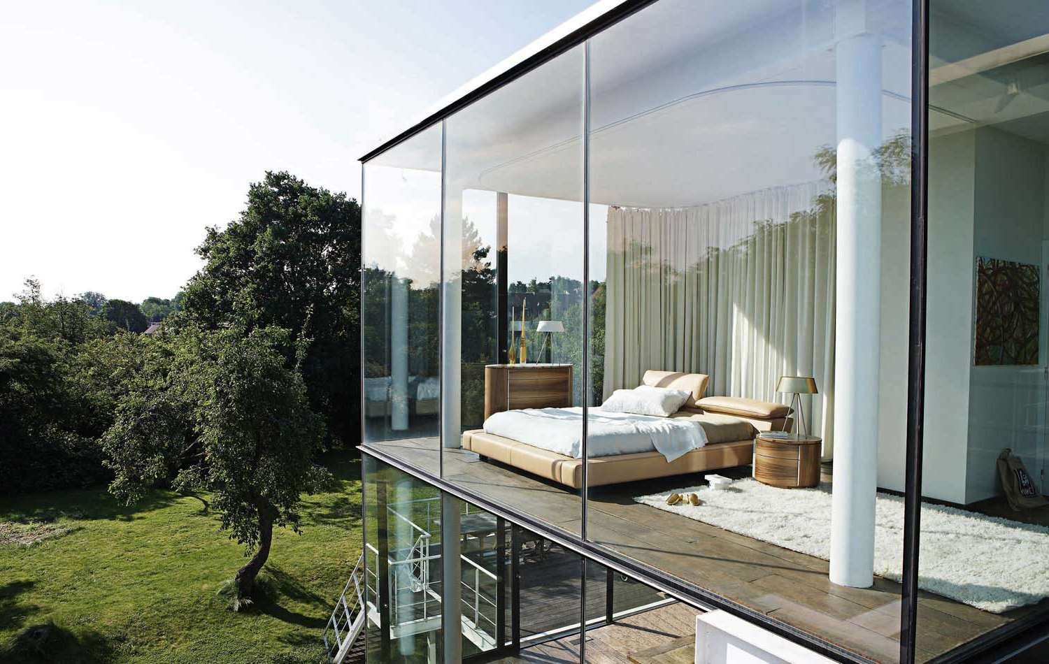 Panoramafenster 25 Cool Bedroom Designs To Dream About At Night