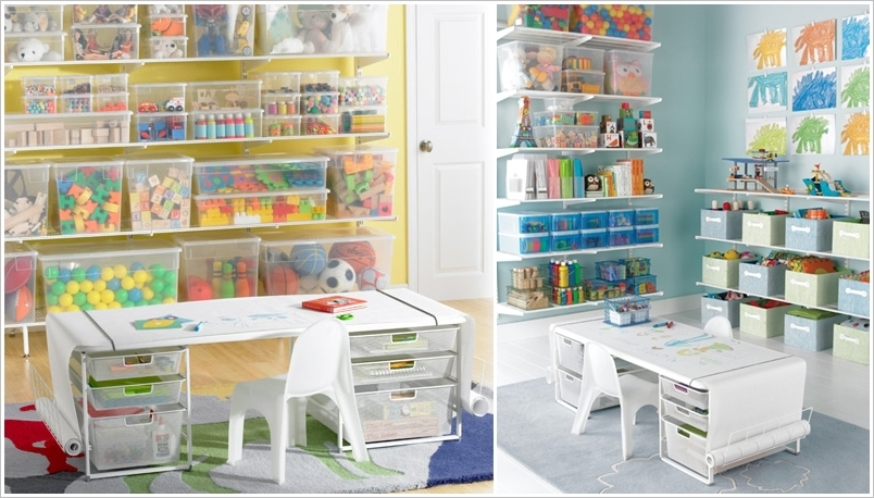 Ikea 8 Cube Storage 20 Clever Kids Playroom Organization Hacks And Ideas