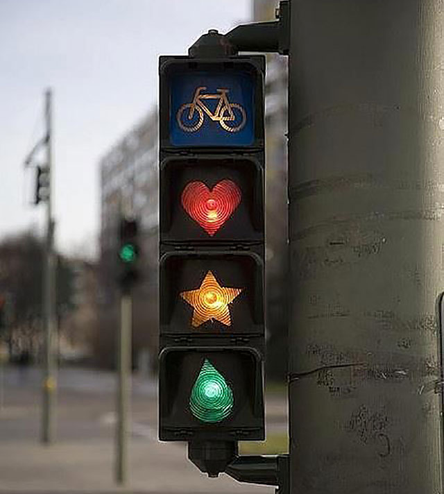 Sand Copenhagen 11 Of The World's Most Creative Traffic Lights