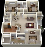 Apartment Bedroom House Plans