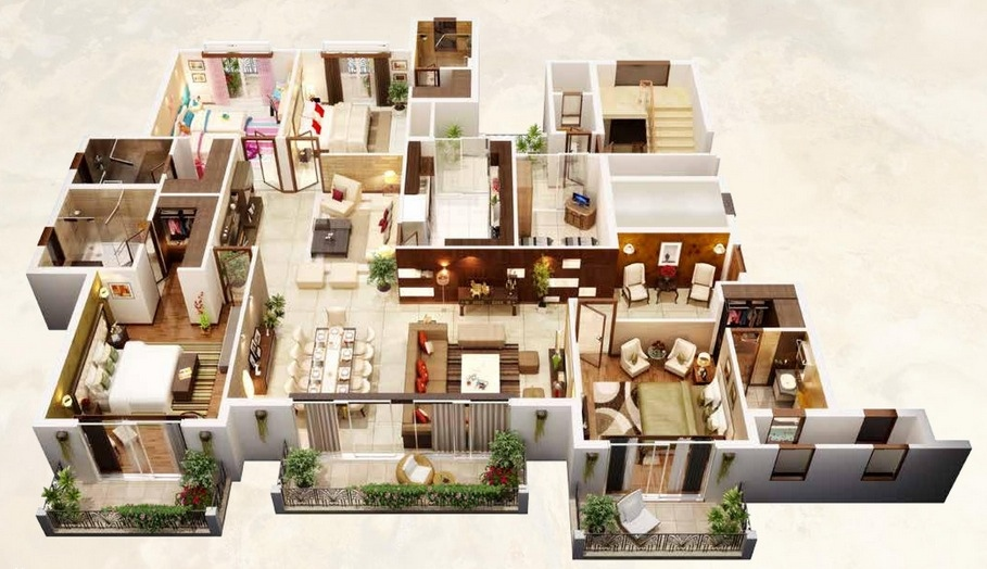 bedroom apartment house plans architecture design home design layout part